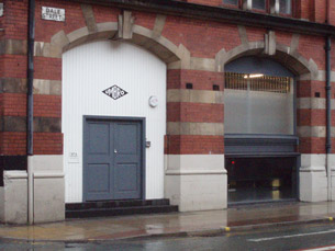 Outside Umbro's design studio