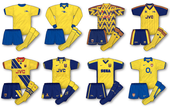 meet ac76d 361b9 True Colours Football Kits » football kit history