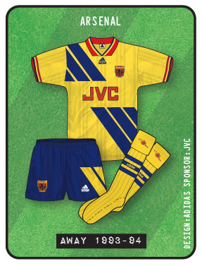 348d8e3a866 True Colours Football Kits » Arsenal Kits