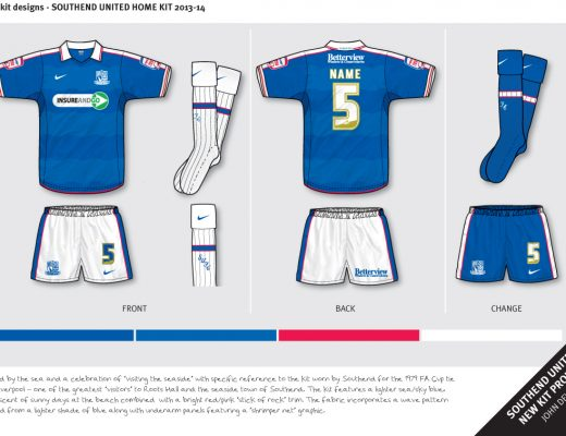 southend united fantasy kit 6