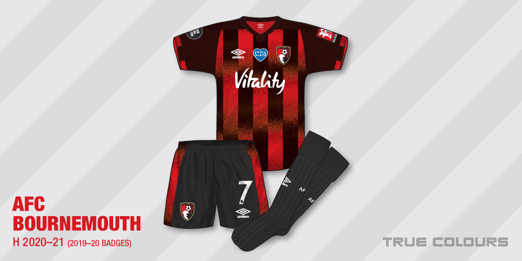 AFC Bournemouth 2020-21 home kit